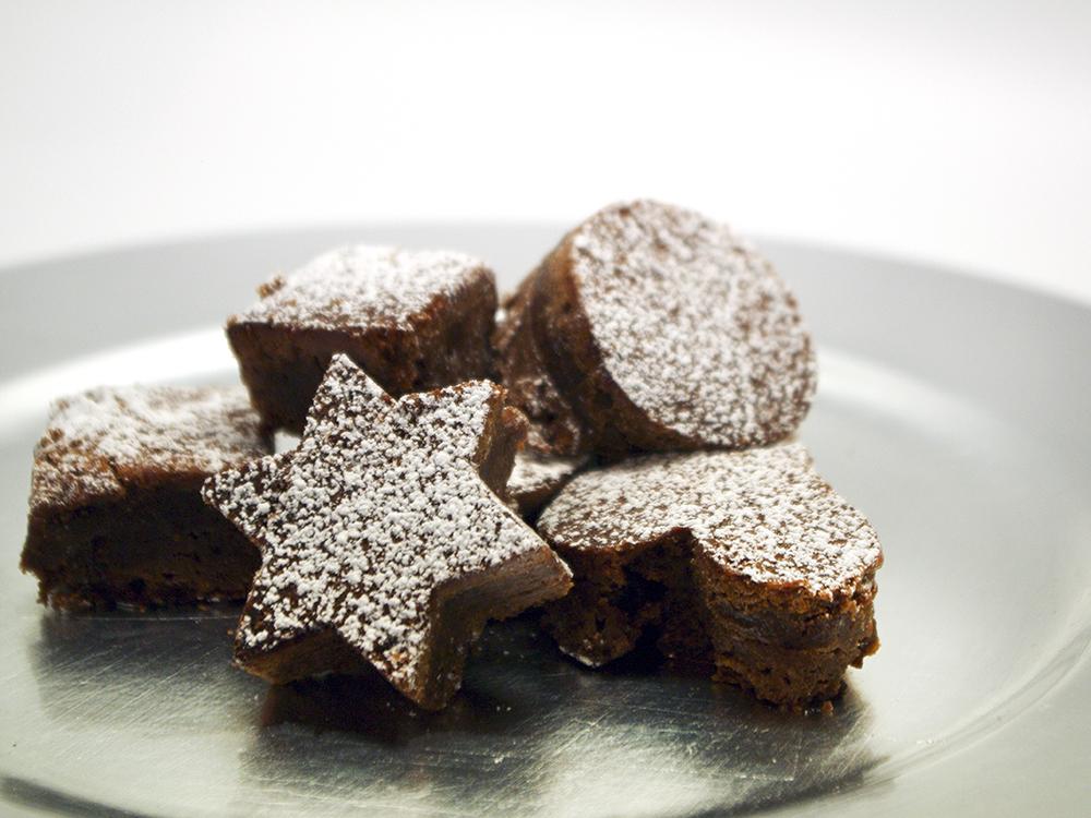 Brownies amb caramel al toc de sal