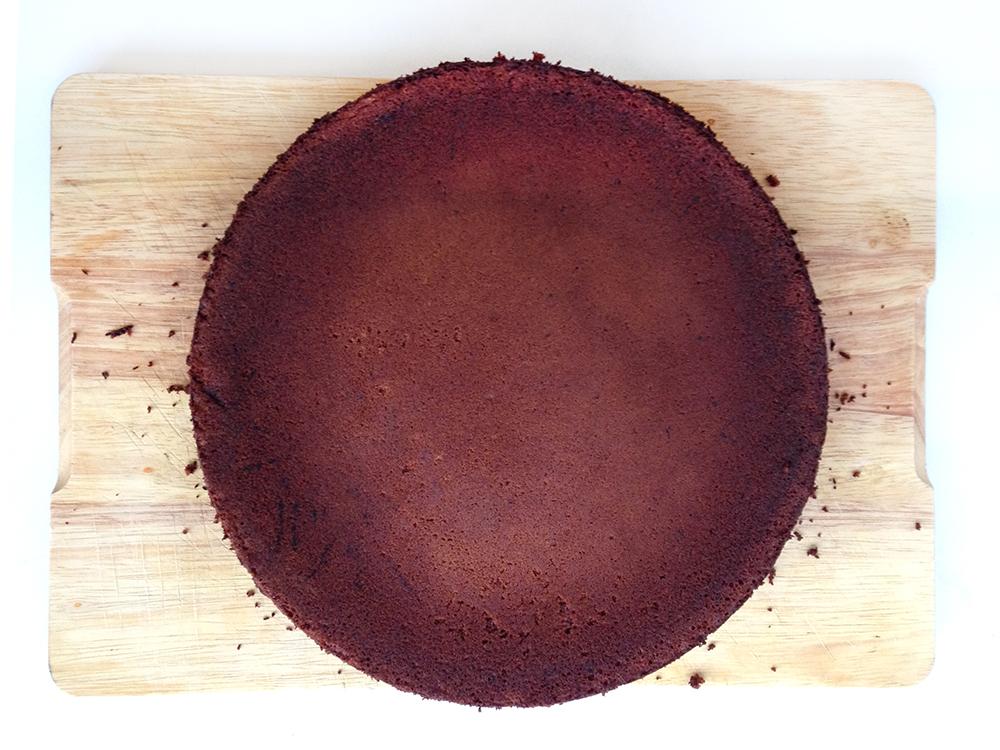 Pastís de xocolata sense farina