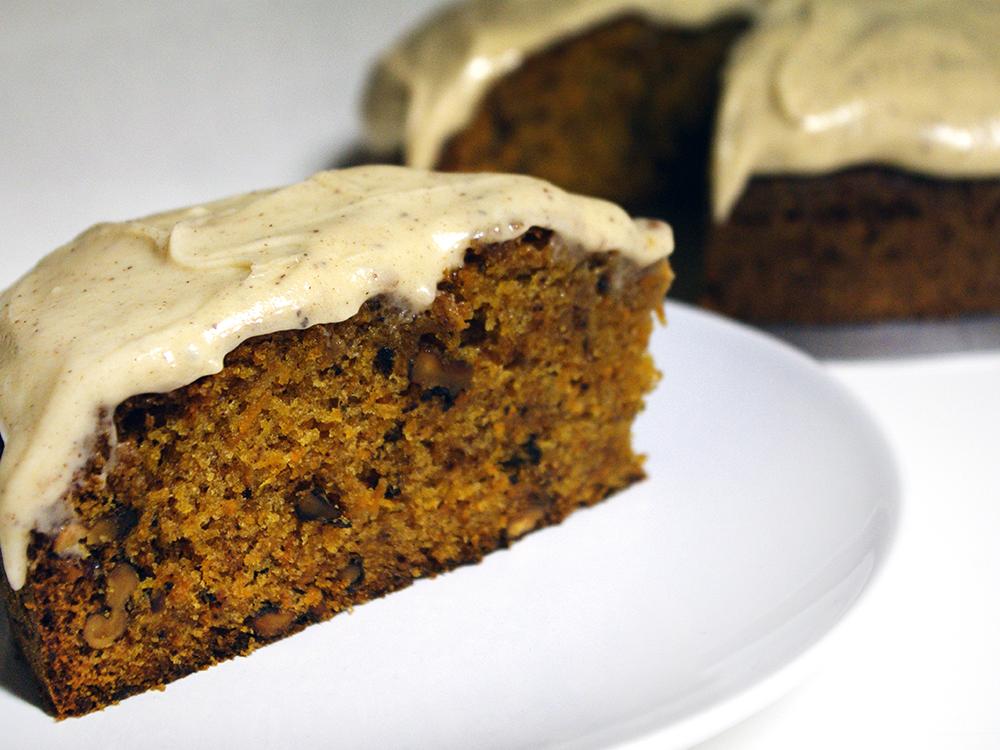Pastís de pastanagó (o pastanaga o carrot cake)
